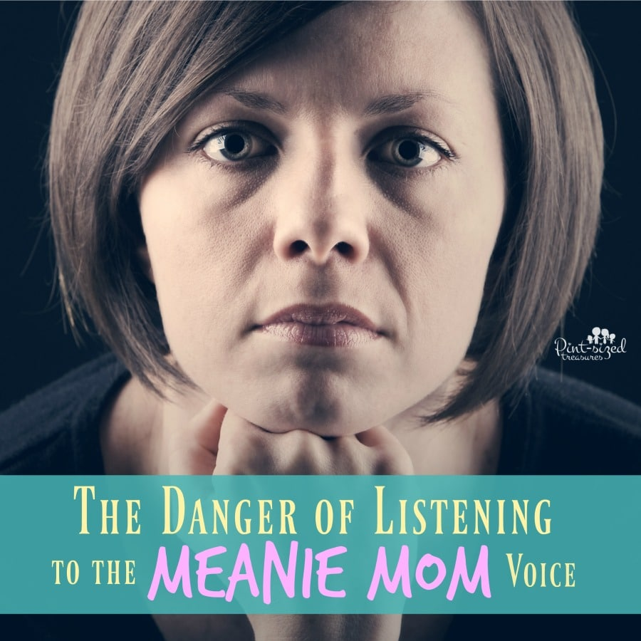 danger of listening to the meanie mom voice