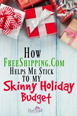How FreeShipping.com Helps Me Stick to My Skinny Holiday Budget