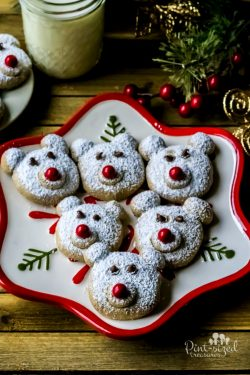 Spiced Polar Bear Cookies
