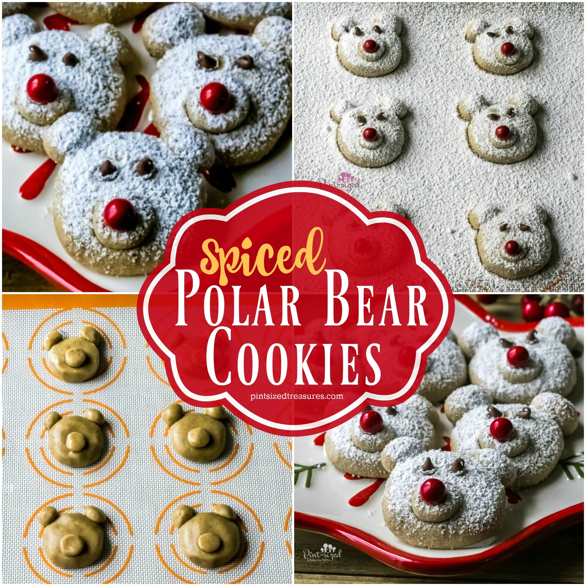 spiced polar bear cookies recipe