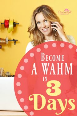 Become a WAHM in THREE Days!