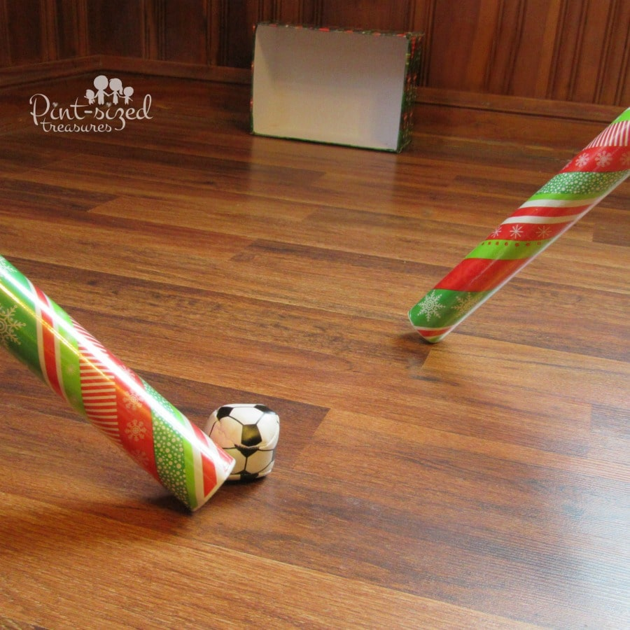 2020 Let S Glow Crazy Theme Kit: Christmas Wrapping Paper Hockey Game · Pint-sized Treasures