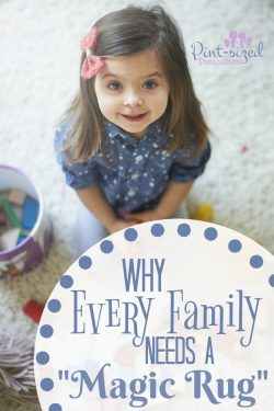 "Why Every Family Needs a ""Magic Rug"""