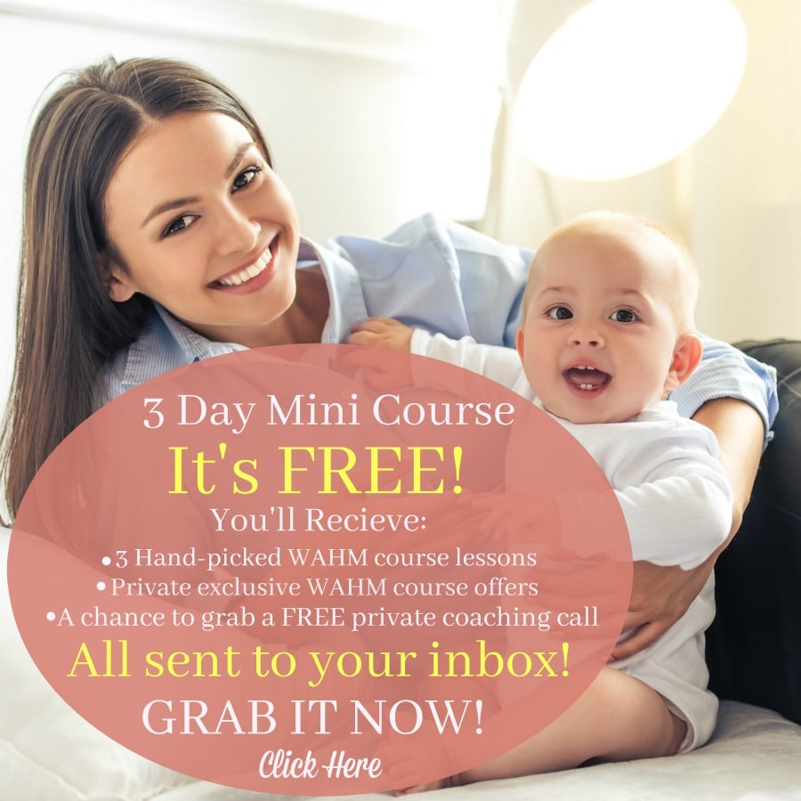 become a WAHM in three days