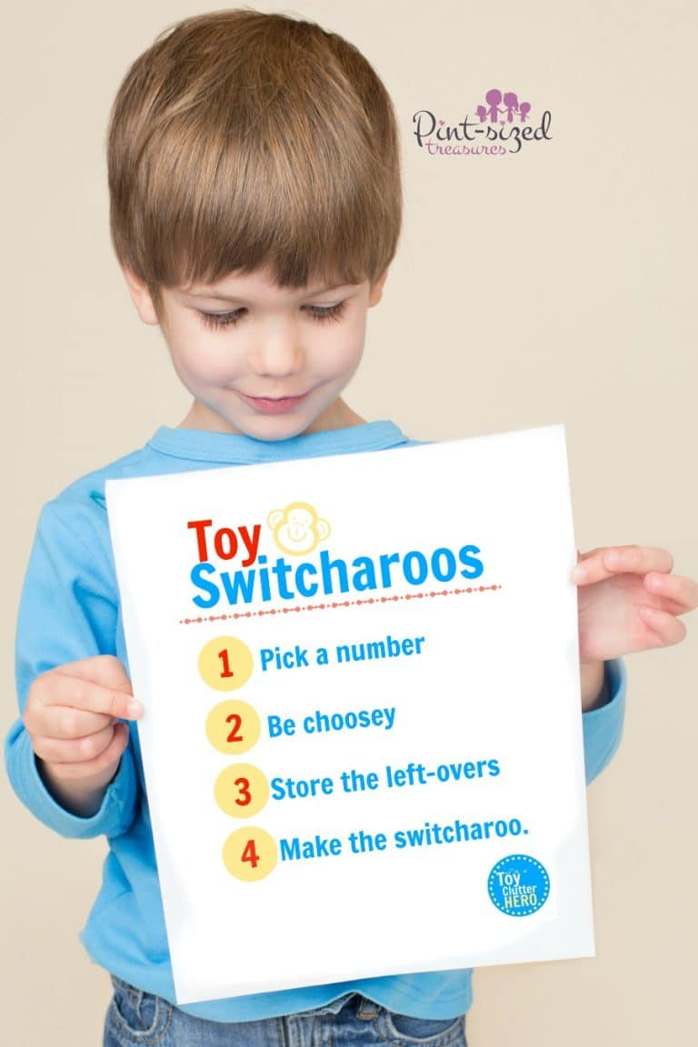 toy switcharoos my secret to ending toy clutter