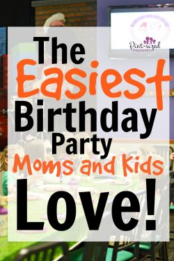 The Easiest Birthday Party Moms and Kids Love