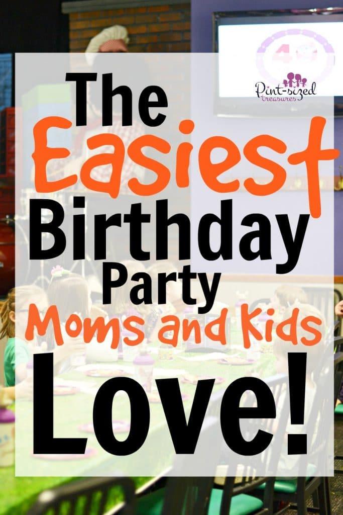 easy birthday party