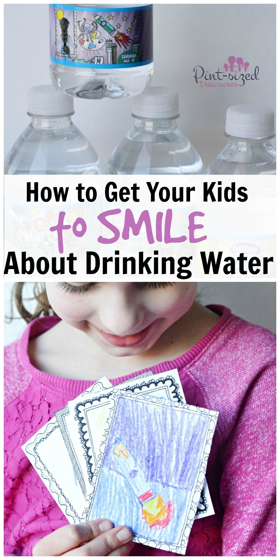 How to Get Kids to Smile About Drinking Water » Pint-sized ...
