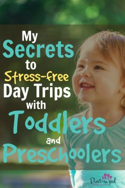 My 5 Secrets to Stress-free Day Trips With Toddlers and Preschoolers