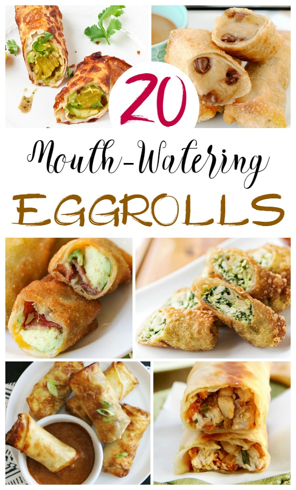 easy egg roll recipes