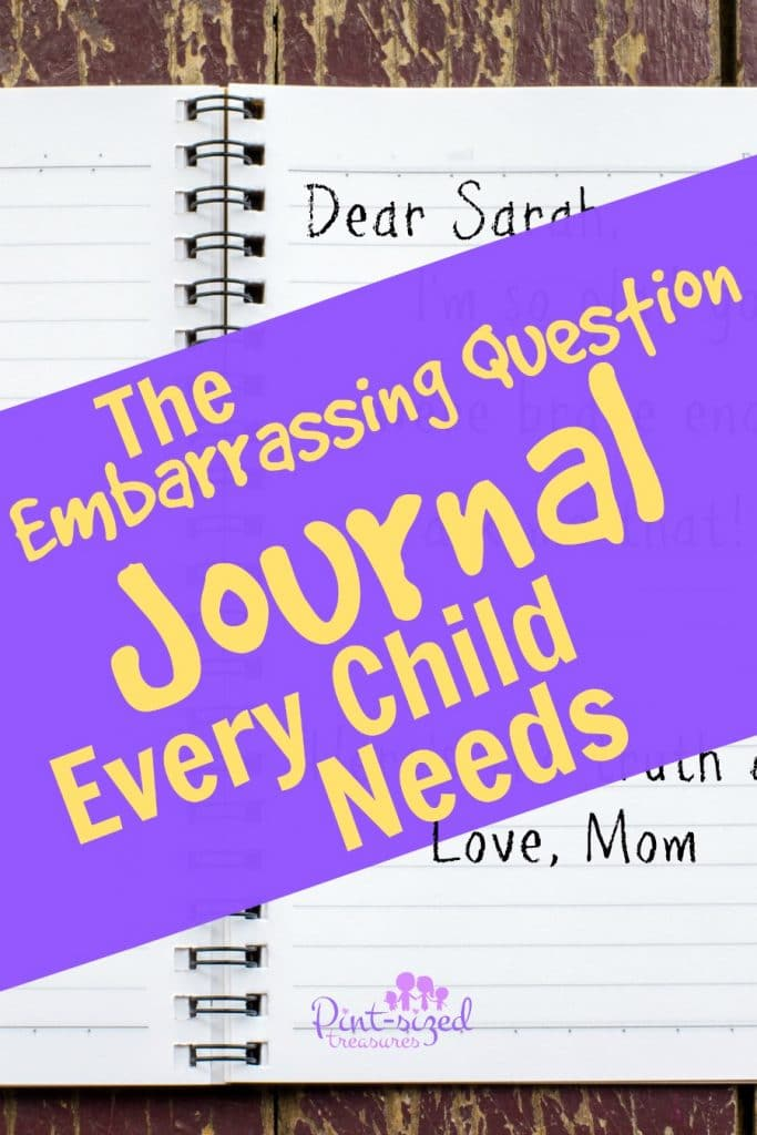 The Embarrassing Question Journal Every Child Needs
