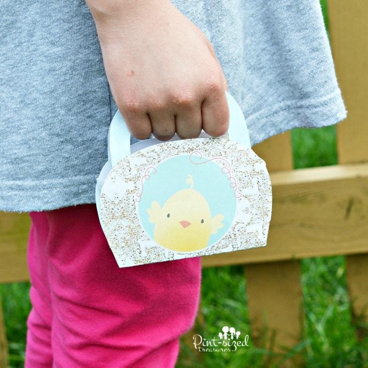 hey chick printable purse