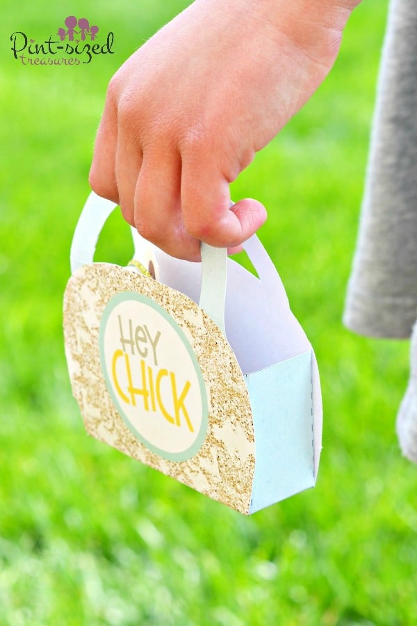 hey chick printable purse