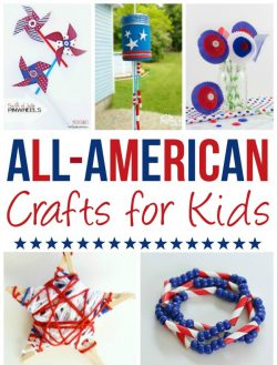 20 All American Crafts for Kids