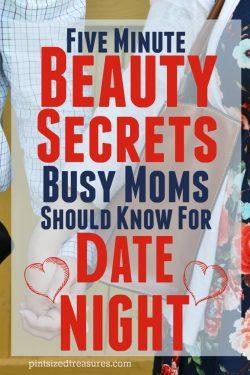 five minute beauty secrets for date night