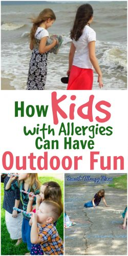 How Kids with Allergies Can Have Outdoor Fun