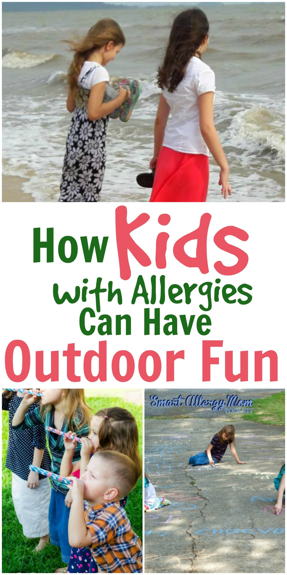 How Kids with Allergies Can Have Outdoor Fun · Pint sized Treasures