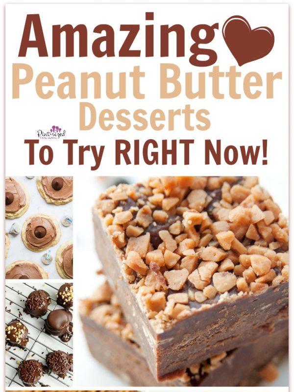 amazing peanut butter desserts