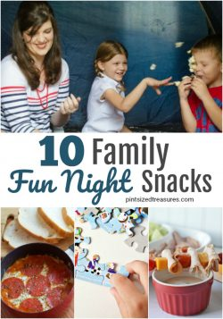 family fun night snacks ideas