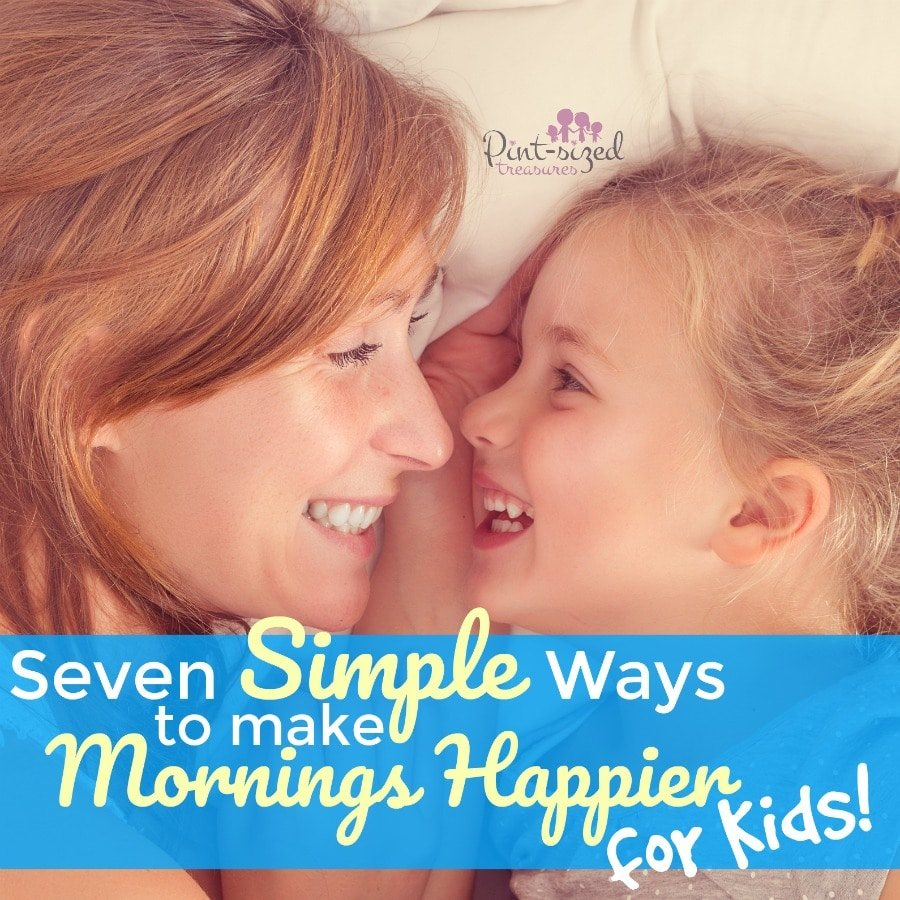 hownto make mornings happier for kids