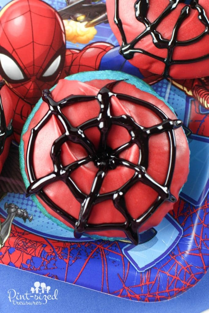 Easy Spider Man Donuts