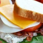 cheesy tuna blt recipe