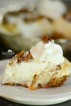 No-Bake Caramel Apple Pie Cheesecake