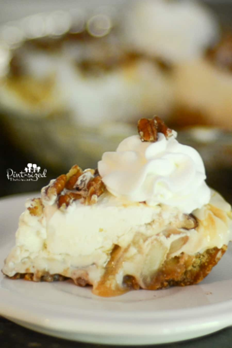 easy caramel apple pie cheesecake recipe
