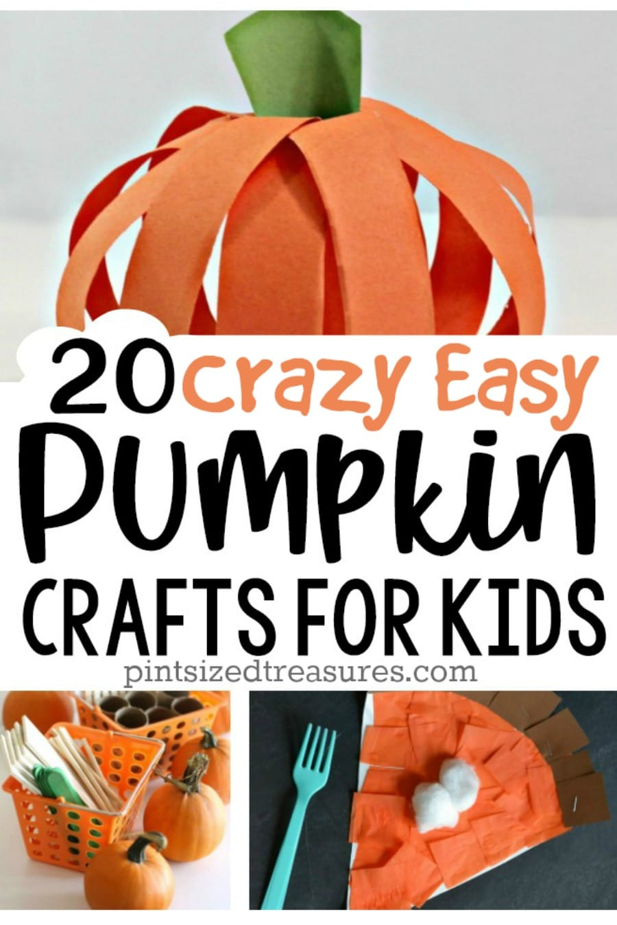 easy pumpkin crafts for kids