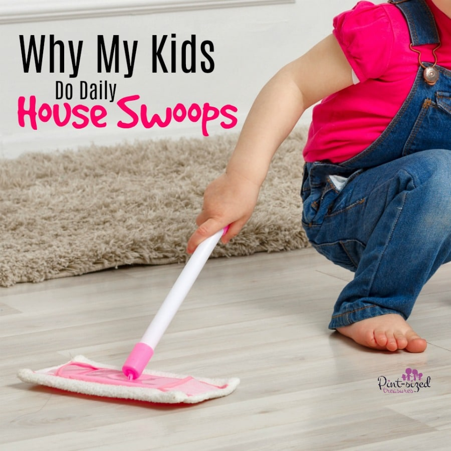 kids do daily house swoops