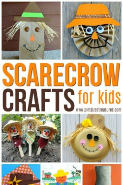 Easy Scarecrow Crafts for Kids