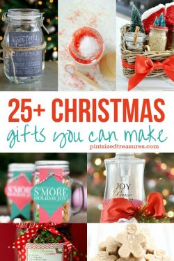 25 Christmas Gifts You Can Make