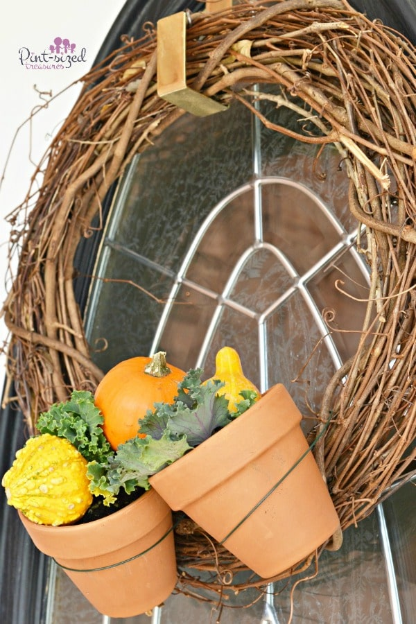 farm themed easy diy fall wreath