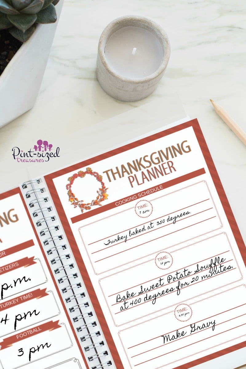 The Thanksgiving Day planner every busy mom needs to keep er sane, organized and focused on and before Thanksgiving Day. It's free too!