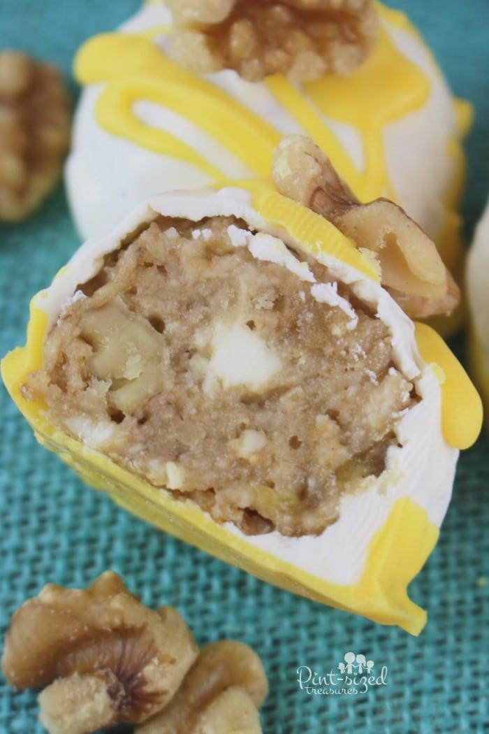 easy banana bread truffles recipe