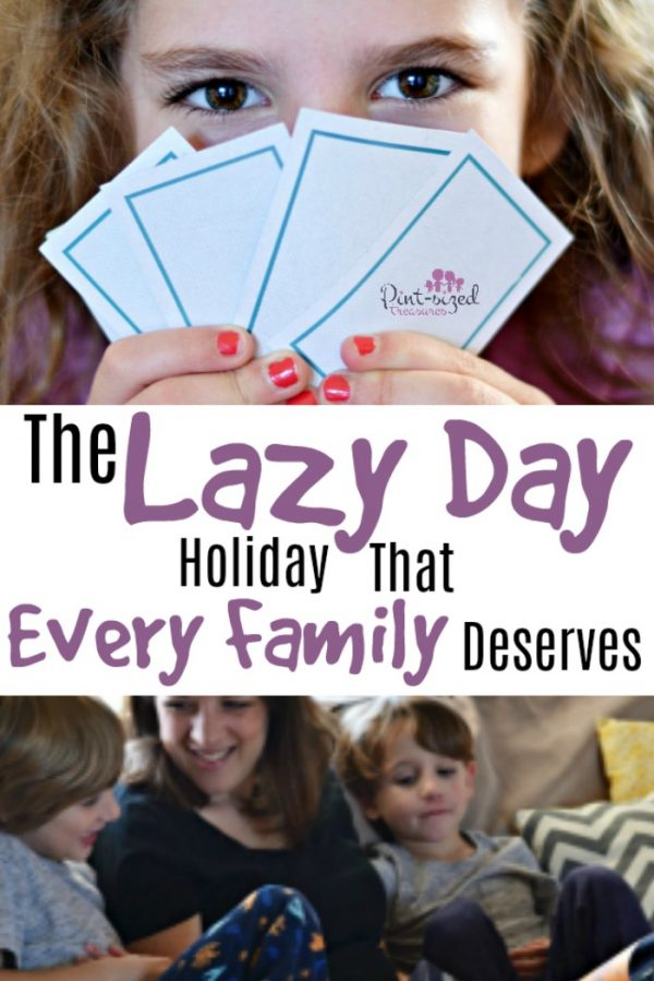 lazy day holiday