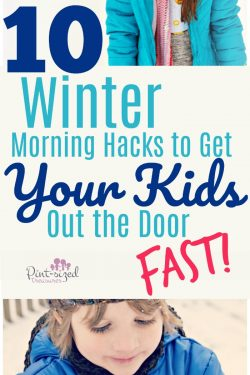 AWESOME winter morning hacks that will help parents get their kids out the door FAST! Genius parenting tips!