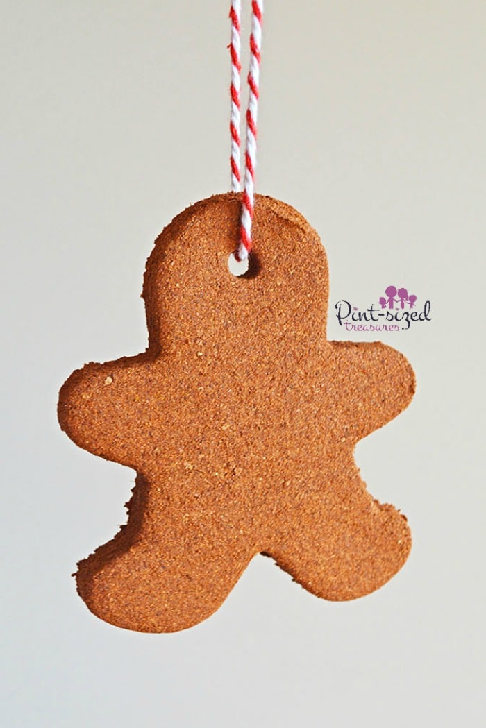 cinnamon gingerbread christmas ornament