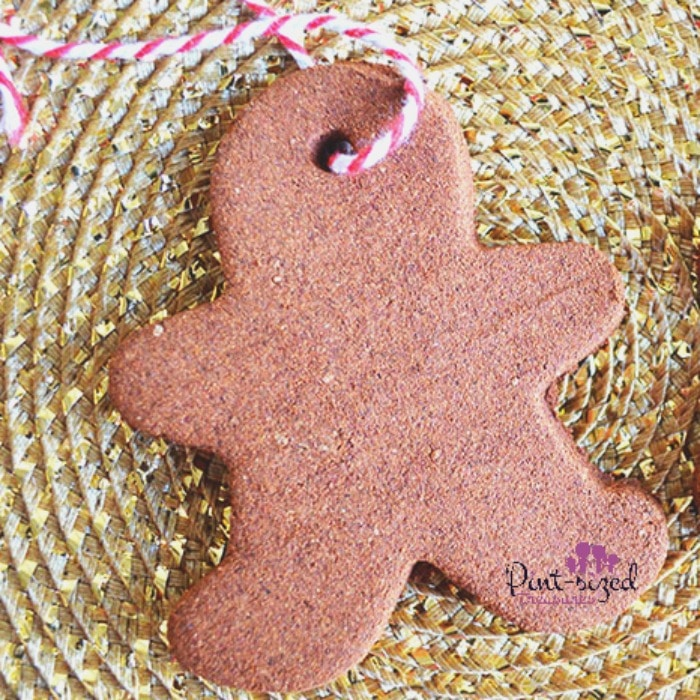 cinnamon gingerbread ornament