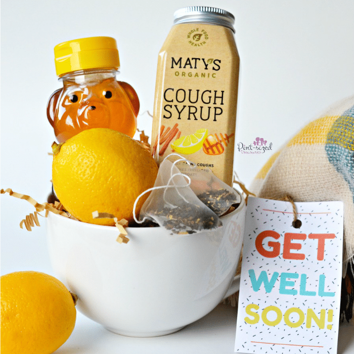 Isn't this cute, get well basket? It's bursting with immense booster that moms actually want! #immunebooster #giftbaskets