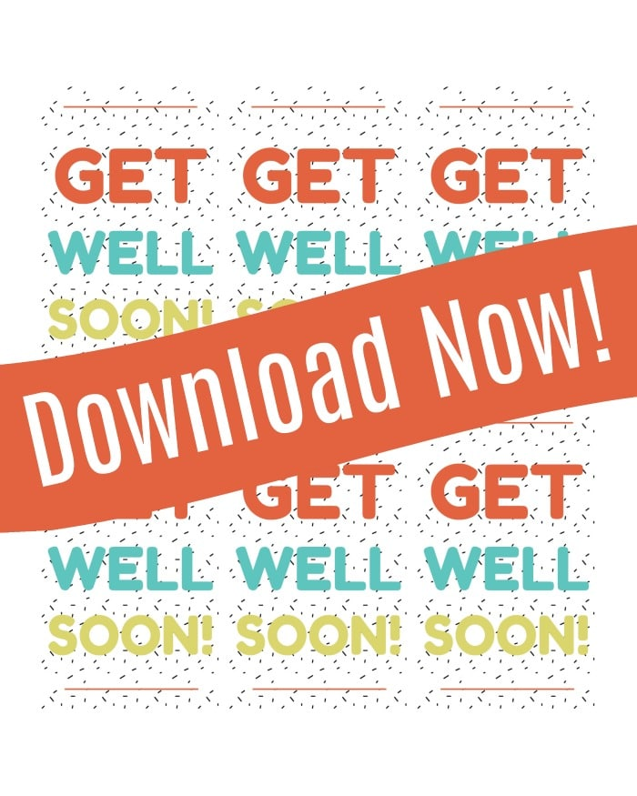 printable get well soon tags