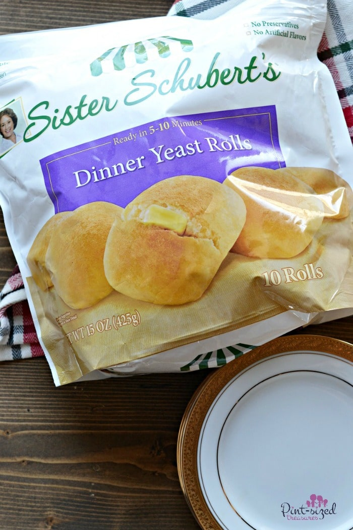 holiday dinner conversation  rolls