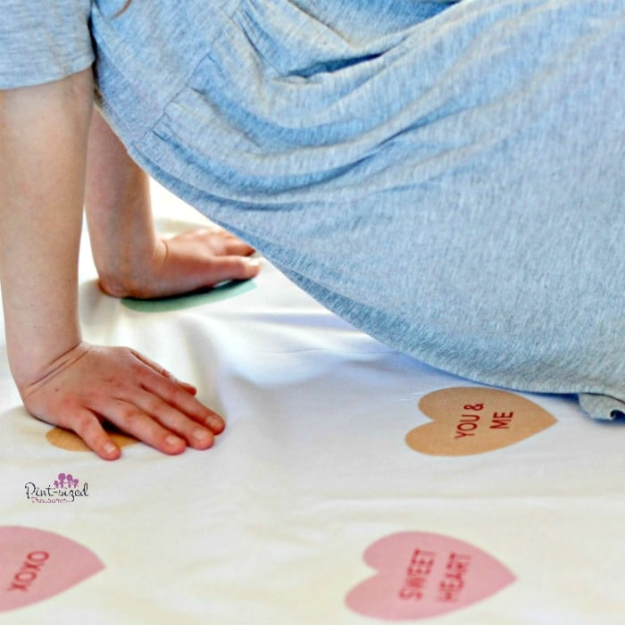 printable conversation heart twister game