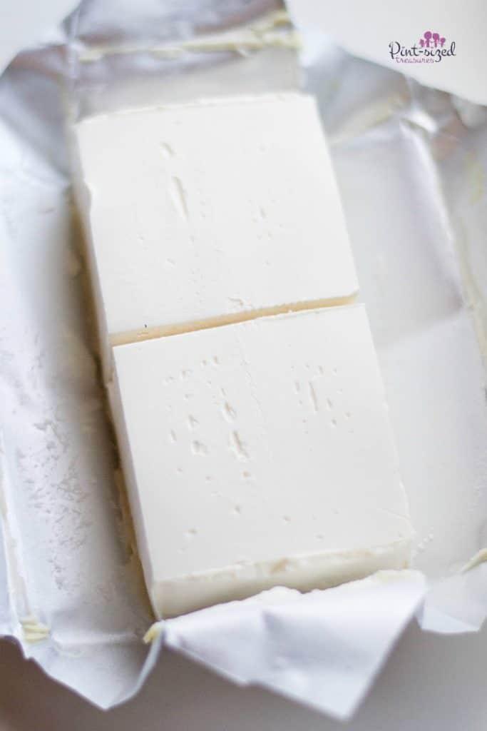 softened cream cheese for cheesecake