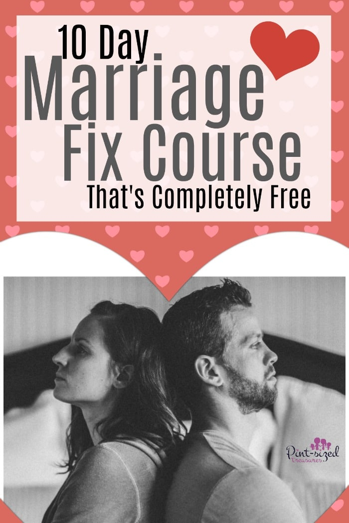 marriage fix course 10 days