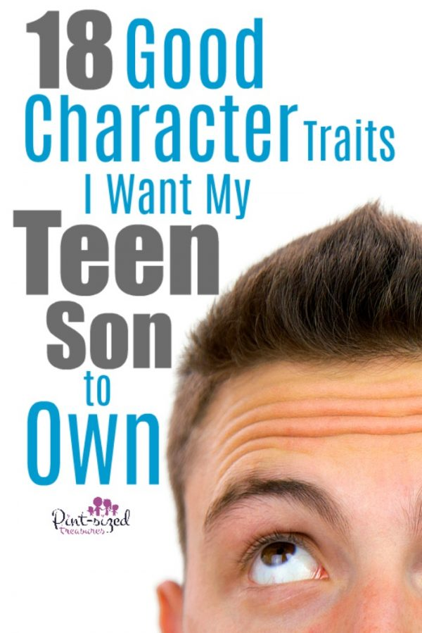 I want the best for my teen son. I know that investing time, pray and guidance into his life will make a world of difference. And these good character traits? They're absolutely necessary for him to become an honorable young man and adult! #parentingtips #raisingteens #ChristianParenting #motherhood #parentingtips #teensons #momlife #Christianmoms