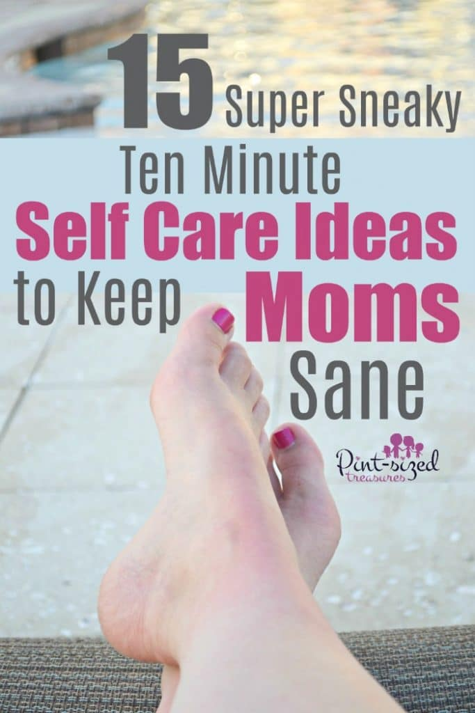 Taking time for self care during motherhood is a great way to rejuvenate and refresh yourself so you can be mom your kids needy to be! Check out our ten minute self care ideas that will keep moms sane! Only TEN minutes! You have time for that, right? <3 #motherhood #selfcare #mommy #parentinghelp #momhelp #helpformoms #makingtime