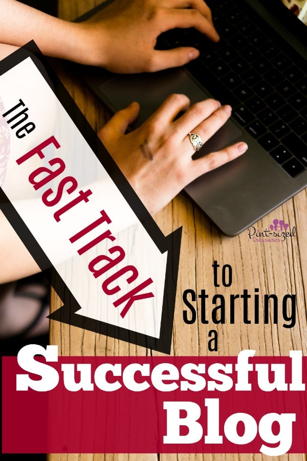 Starting a successful blog can be less scary than you think! Here's the FAST TRACK plan to starting a successful blog today! #blogging #bloggerssecrets #bloggingtips #problogging #blogginghelp #startablog #howtoblog