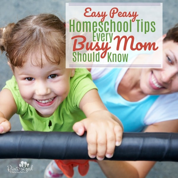 How on earth can busy moms fit homeschooling into their schedules? These easy-peasy homeschooling tips help moms do just that --- without sacrificing their sanity! <3 #homeschoolingmoms #homeschoolinghelp #parentinghelp #momblogger #parentingblogger #kbnmoms #teachingkids #learningathome