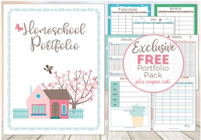 homeschool portfolio for busy moms